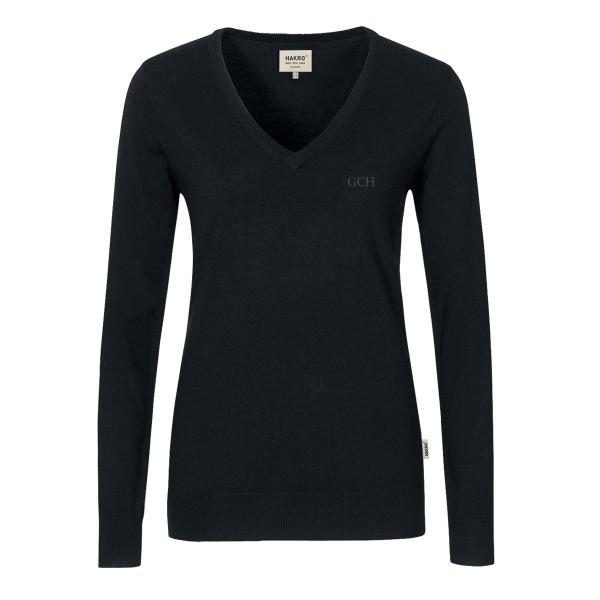 Damen V-Pullover Merino Wool #134
